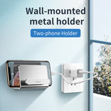 Baseus Wall Mount Holder For iPhone Xs Max X 8 Metal Strong Adhesive Mobile Phone Holder For Samsung Huawei Xiaomi Sony LG GoogleCharger Stand - Hot Phone Tech