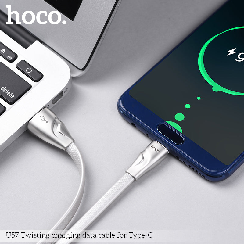 HOCO Original Zinc Alloy Jelly Type-C to USB Charging Data Cable for Samsung LG Sony HUAWEI HTC Google  Charger Wire Data Transfer Sync - Hot Phone Tech