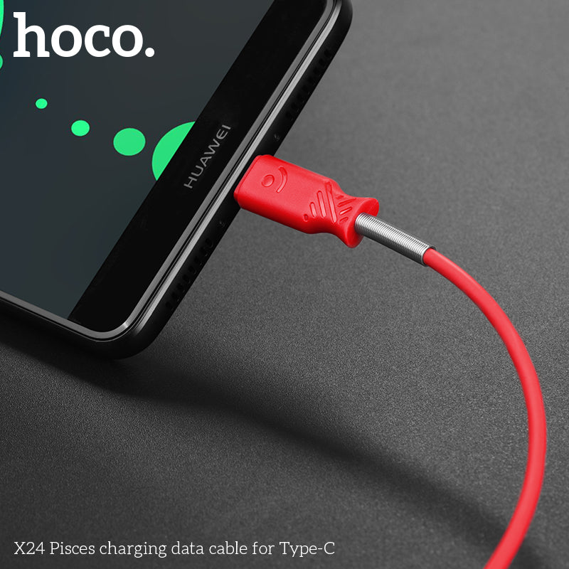 HOCO Fast USB-C Type-C Charger Charging Data SYNC Cable Cord For Samsung Sony LG Google HUAWEI - Hot Phone Tech