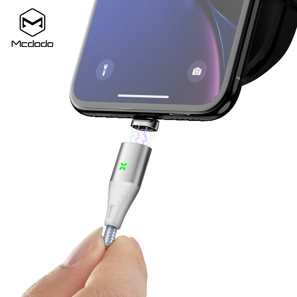 Mcdodo Magnetic Attraction Micro USB 3.1 Fast QC3.0 Charging Quick Charger Data Sync Cable Cord For Android Samsung Google LG HTC - Hot Phone Tech