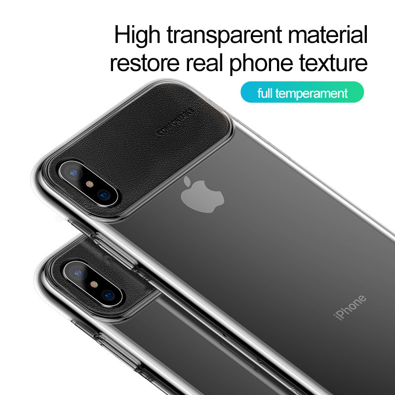 Baseus Phone Case For iPhone XS Max/XR/XS/X Luxury Ultra Thin PU Leather PC Back Cover Case - Hot Phone Tech