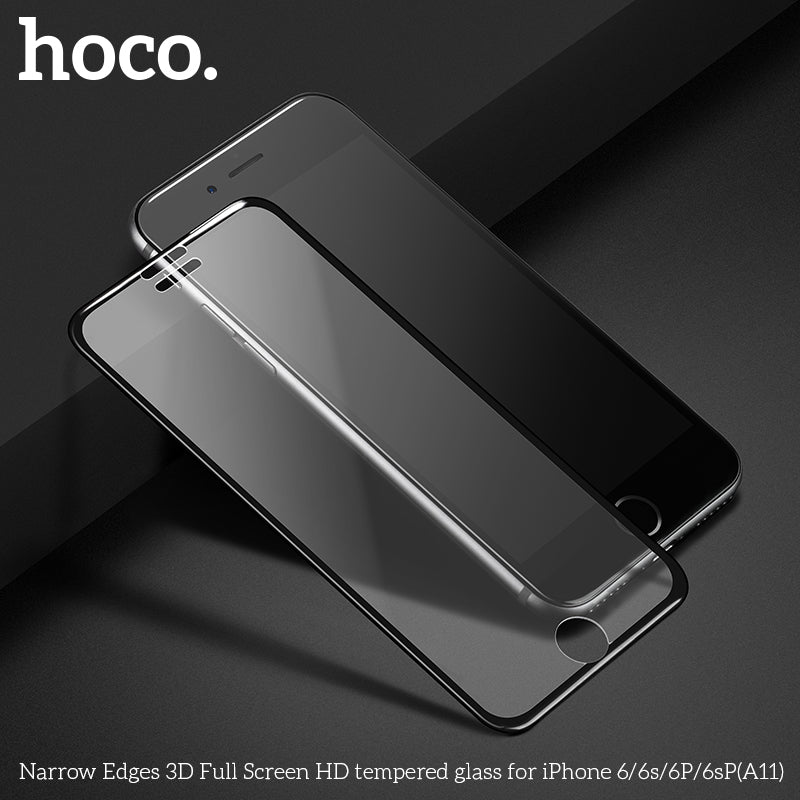 HOCO Full Cover Protective Tempered Glass for iPhone6/6s/6 Plus/6s Plus 3D Screen Protector for iPhone6/6s/6 Plus/6s Plus Protection on Film - Hot Phone Tech