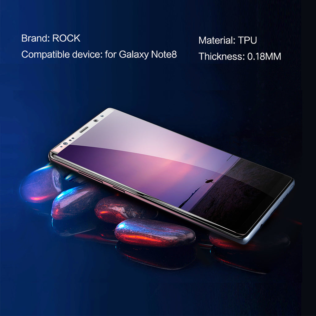 Rock Soft Glass For Samsung Galaxy Note 8 Screen Protector Note8 TPU Sansung Not 8 Hydrogel Note9 Film Protective Not8 Sumsung Not8 - Hot Phone Tech