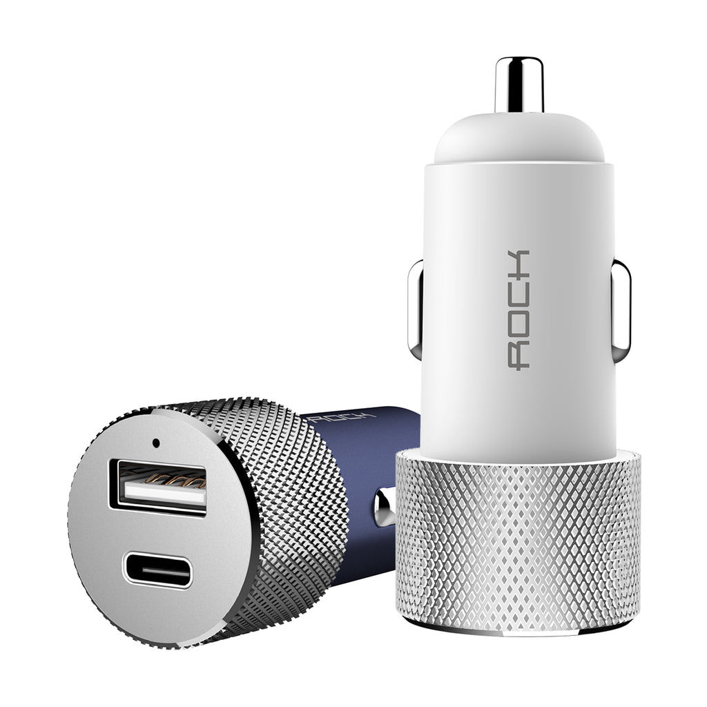 ROCO Charge Car Charger Charging  3.4A Quick QC Fast Charger For iPhone Google Samsung Sony Google LG - Hot Phone Tech