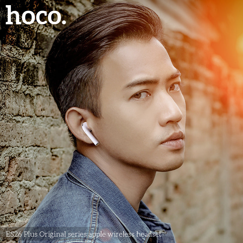 HOCO ES26 Mini Bluetooth Earphones Stereo Bass Wireless Bluetooth 5.0 Headset Earbuds Charging Box + Case for iPhone Google Samsung Sony LG HUAWEI All Smart Phone - Hot Phone Tech