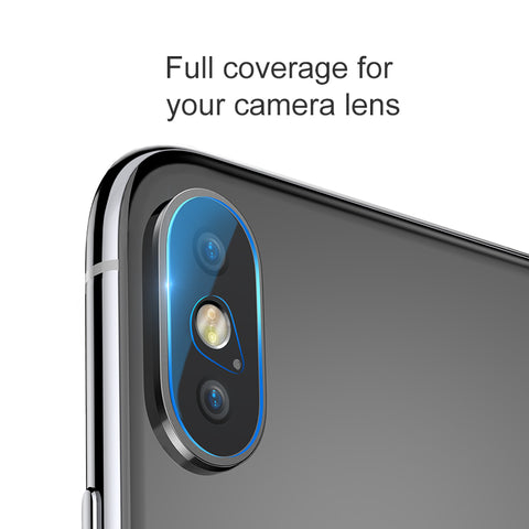 Baseus 0.2mm Tempered Glass Lens Protector For iPhone XS Max Camera Len Glass Film For iPhone XS Max Back Lens Protection Film 9H Glass - Hot Phone Tech