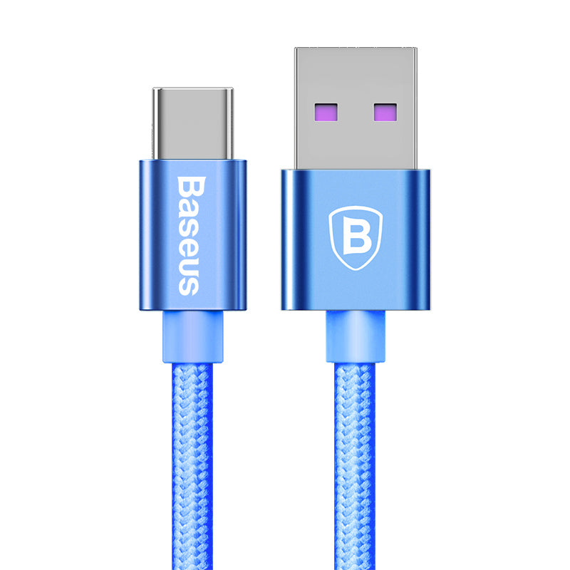 Baseus USB Type C 5A Cable Chager Cable USB C Quick Charge 3.0 Cable For HUAWEI Samsung LG Google HTC ALL Android Device - Hot Phone Tech