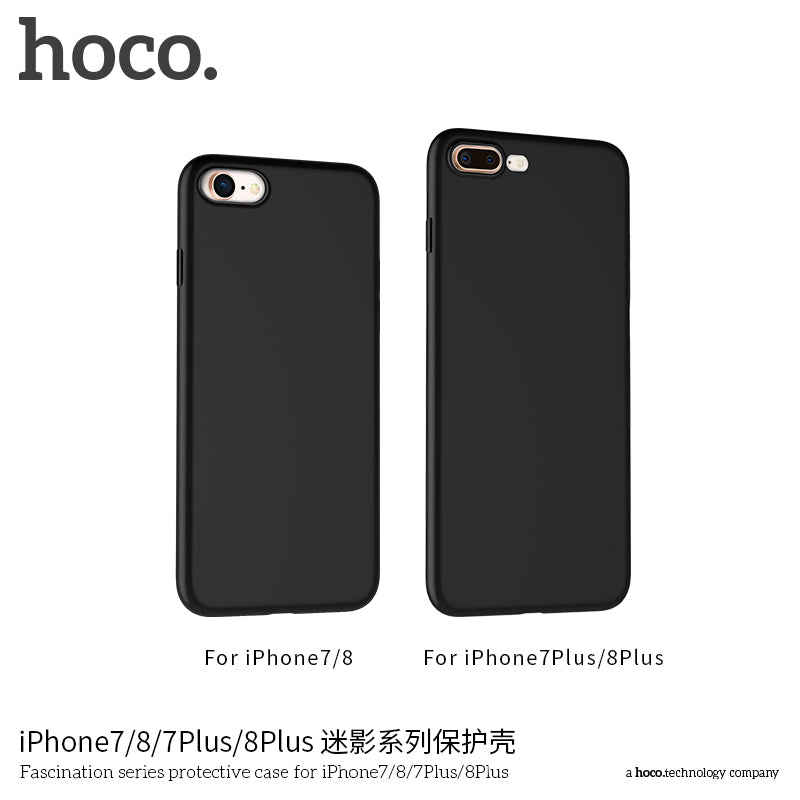 HOCO Ultra-Thin Soft Phone Protective Case for iPhone 7/8/7 Plus/8 Plus  Matte Scrub Slim Protector Flexibility Luxury Back Full Case - Hot Phone Tech