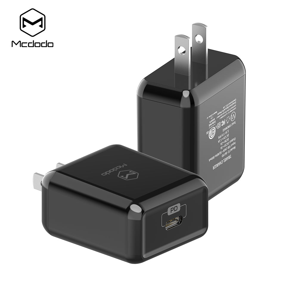 Mcdodo 18W QC4.0 PPS PD3.0 Quick Charging Wall Charger Power for iPhone Samsung LG HTC Google HUAWEI - Hot Phone Tech