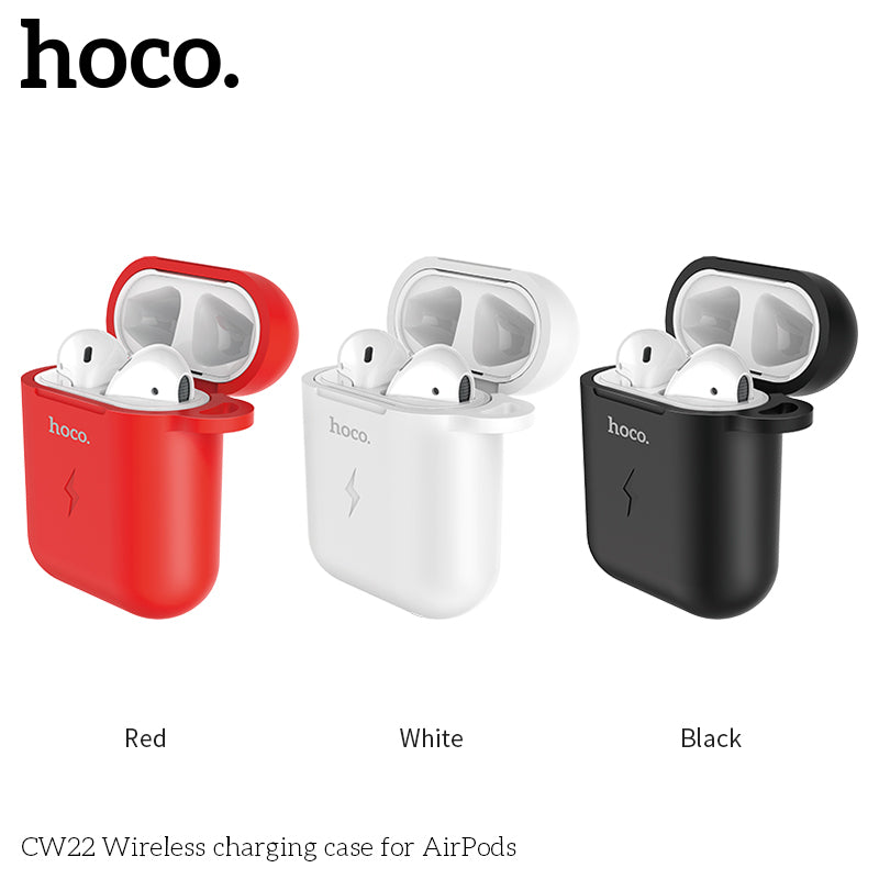 HOCO Wireless Charging Case For AirPods Shock Scratch Protective Cover Box For Air Pods Earphone With Wireless Charger For QI - Hot Phone Tech