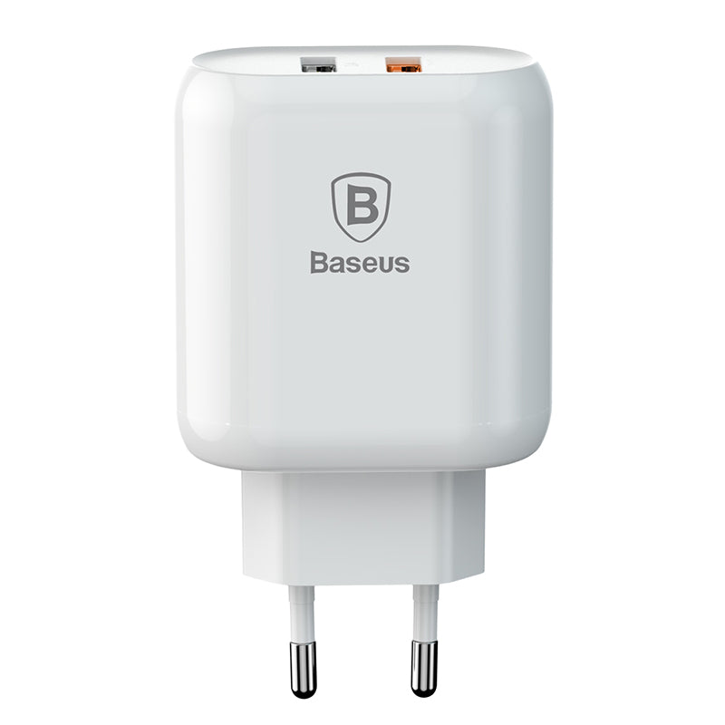 Baseus 23W Quick Charge 3.0 USB Charger For iPhone Samsung Xiaomi Sony LG HUAWEI Google QC3.0 5V/3A Fast Charging EU Travel Wall Mobile Phone Charger - Hot Phone Tech