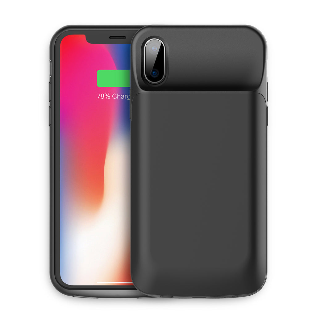 ROCK 6000mAh Power Bank Case for ROCK 6000mAh Power Bank Case for iPhone X,Portable External Backup Battery Charger Case Portable External Backup Battery Charger Case For iPhone X - Hot Phone Tech