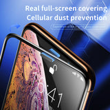 Baseus 0.3mm Screen Protector Tempered Glass For iPhone XS Max X XR XS 3D Full Cover Protective Glass Protection - Hot Phone Tech
