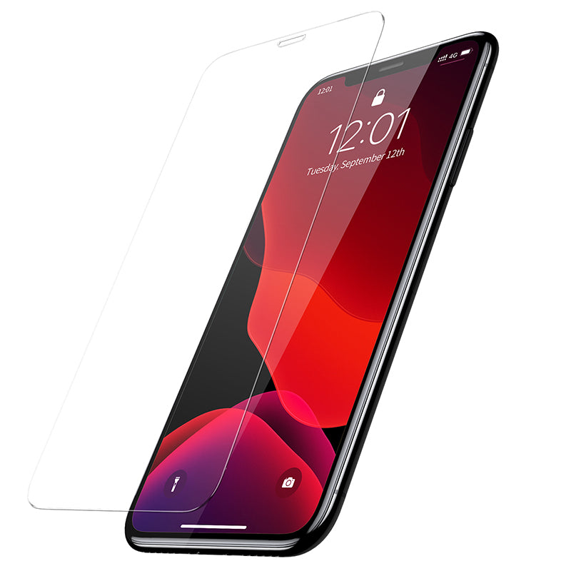 Baseus 0.3mm Screen Protector Tempered Glass For iPhone XS Max XR X/XS Protective Glass Film Cover (2pcspack+Pasting Artifact) - Hot Phone Tech