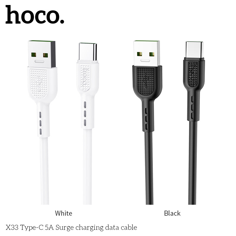 HOCO 5A USB Type C Cable for Huawei Samsung LG HTC Google All Android Device Super Charge USB C Cable - Hot Phone Tech