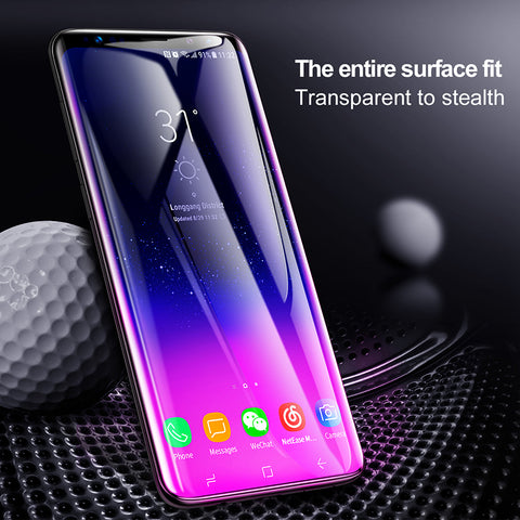 Baseus 3D Surface Screen Protector For Samsung Galaxy S9 S9+ Ultra Thin Full Coverage Tempered Glass - Hot Phone Tech