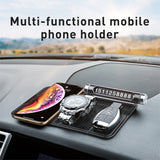 Baseus Multifunctional Phone Holder Anti-Slip Mat in Car Auto Dashboard Sticky Pad Holder Bracket Non-Slip Mat Car Phone Holder - Hot Phone Tech