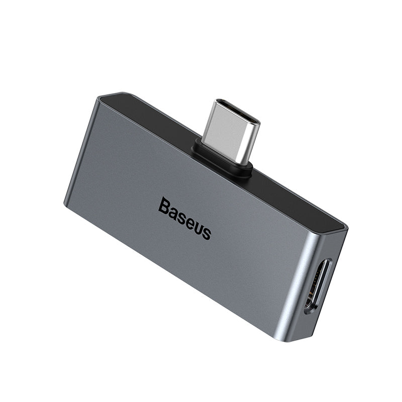 Baseus USB Type C to 3.5mm Headphone Jack AUX Adapter For Huawei Samsung HTC Google LG USB-C Fast Charge Splitter - Hot Phone Tech