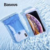 Baseus IP68 Swimming Waterproof Pouch Bag Case Cover iPhone Sony Google Samsung LG Cellphone - Hot Phone Tech