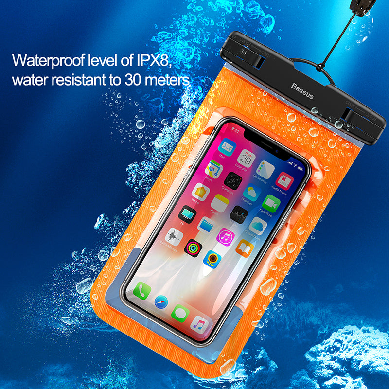 Baseus Universal Waterproof Case For iPhone XS MAX XS XR X 8 7 6S Samsung Google HTC LG HUAWEI Holder Running Bag On Hand For Phone - Hot Phone Tech