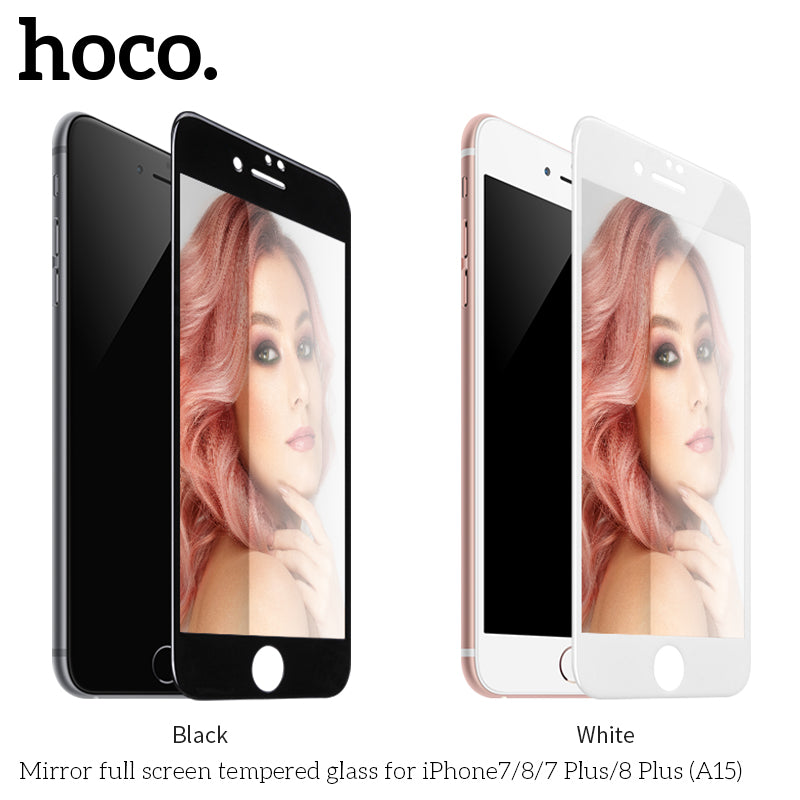 HOCO Mirror Tempered Glass film for iPhone7 /8 7 Plus/8 Plus  Full Cover Makeups HD Scratch Proof Screen Protector Ultra Thin 0.33mm - Hot Phone Tech