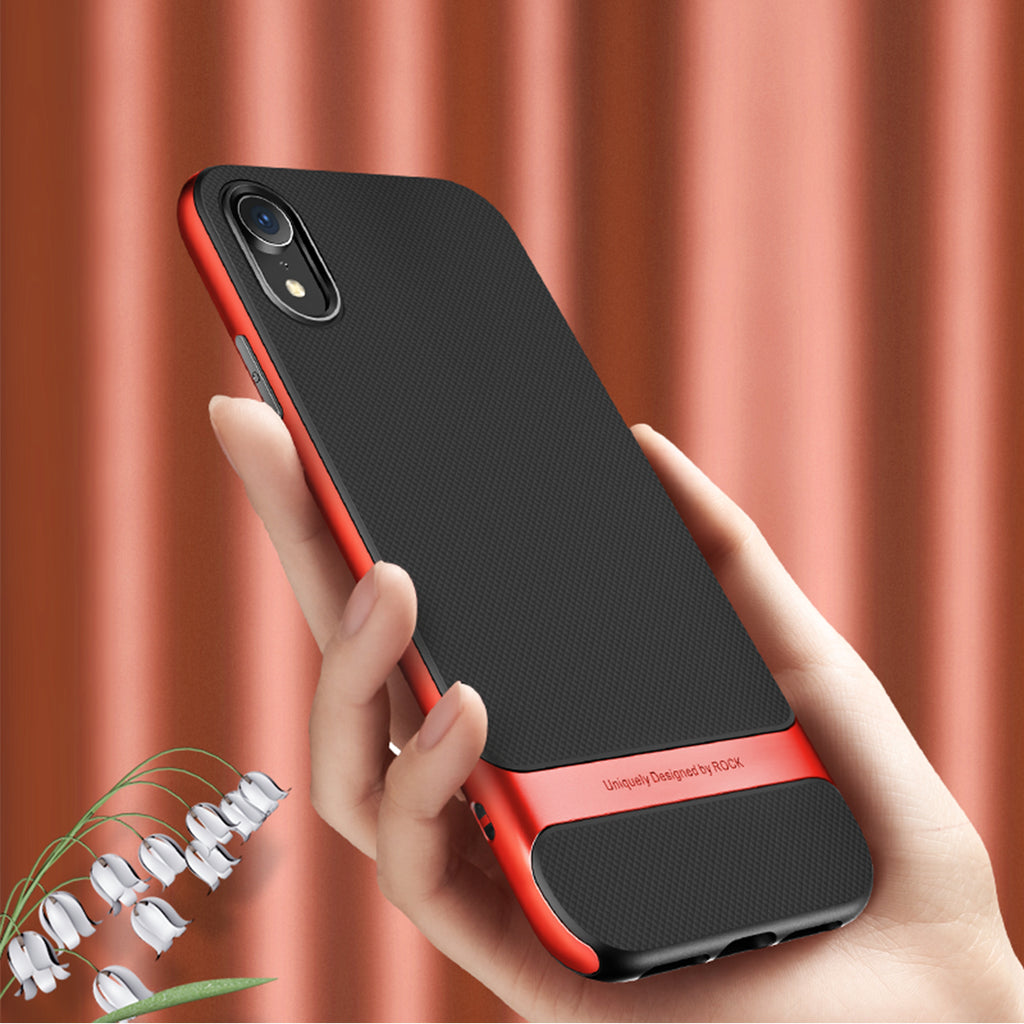 ROCK Case For iPhone  XR Cover Royce Anti-knock Case Ultra Slim Armor Cover Coque Hard PC+Soft TPU Back Cases Fundas - Hot Phone Tech