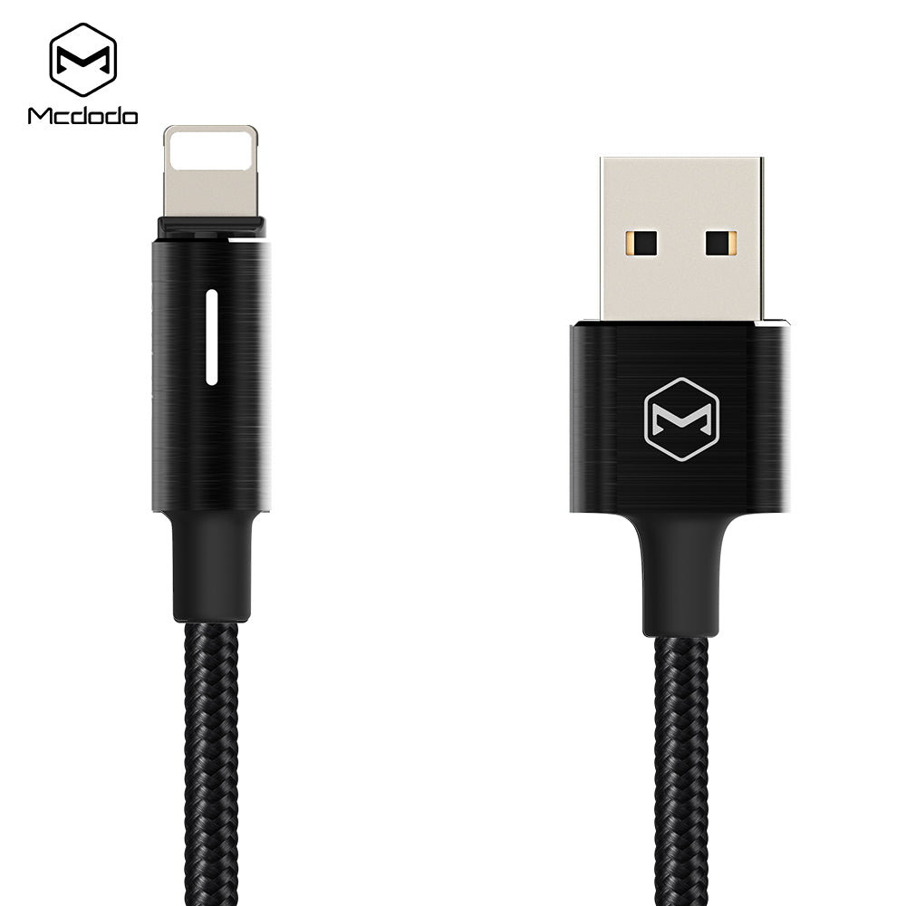 Mcdodo King Series USB Cable Fast Charging Cable Mobile Phone Charger Cord Usb Cable For iPhone Apple X XS MAX XR 8 7 6 6s plus - Hot Phone Tech
