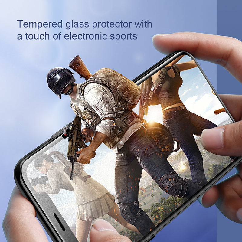 Baseus 0.3mm Full-Screen Curved Frosted Tempered Glass Protector For iPhone X/XS/XS MAX/XR - Hot Phone Tech