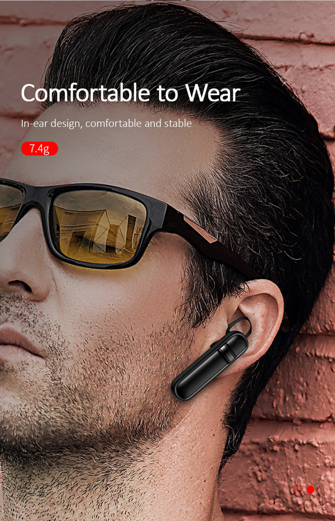 USAMS Wireless Bluetooth Earphones Stereo HD Noise Reduction with Microphone Handsfree Bluetooth 4.2 Earphone for iPhone Samsung Sony LG HUAWEI Google - Hot Phone Tech
