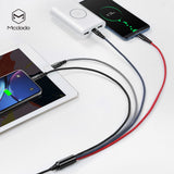 Mcdodo 3A 4 in 1 USB Cable 3A for Mobile Phone Micro USB Type C Charger Cable for iPhone XR XS Max X Huawei Samsung LG Google HTC Fast Data Charging Cord - Hot Phone Tech