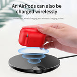Baseus Luxury Wireless Charging Case For Airpods Accessories Silicone Protective Cover For Apple Airpod Air Pods Pod Coque Funda - Hot Phone Tech