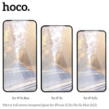HOCO Mirror Tempered Glass film for iPhone X XS MAX XR Full Cover Makeups HD Scratch Proof Screen Protector Ultra Thin 0.33mm - Hot Phone Tech