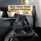 Baseus Car Backseat Phone Holder Hook Auto Fastener Clip Cellphone Holder Seat Back Bag Hanger Clip In Car For iPhone XS MAX XS XR X 8 7 6 Samsung Google HTC HUAWEI LG - Hot Phone Tech