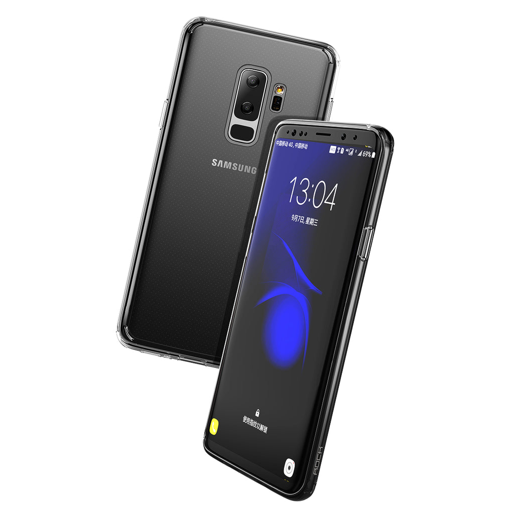 Rock Premium Ultra Slim Clear Soft Transparent Silicone TPU Case For Samsung Galaxy S9 /S9 plus Cover Caps - Hot Phone Tech