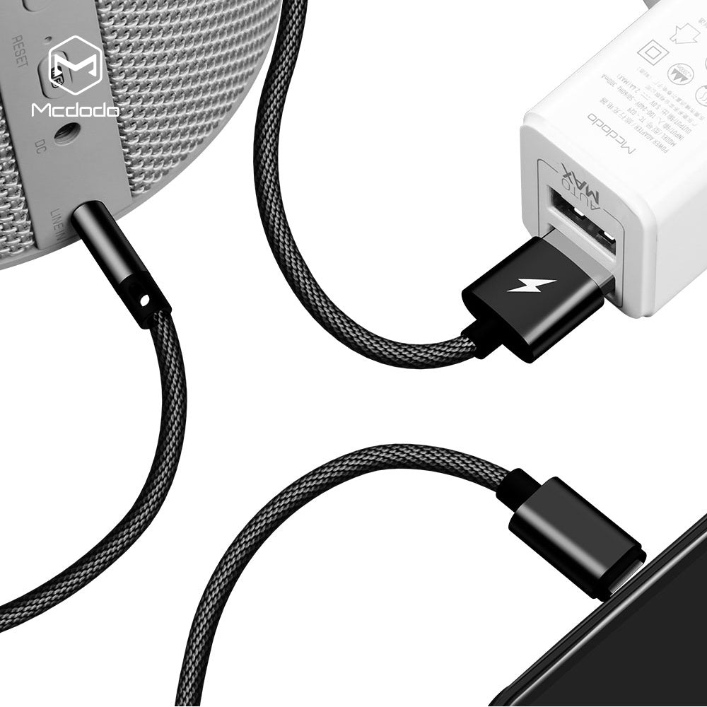 Mcdodo Lightning To AUX AUXILIARY 3.5mm Cable Male to Male for Car Audio Cord iPhone Samsung LG HTC HUAWEI Google - Hot Phone Tech