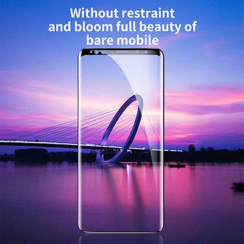 Baseus Screen Protector Tempered Glass For Samsung Galaxy Note 9 3D Full Cover Protective Glass Film - Hot Phone Tech