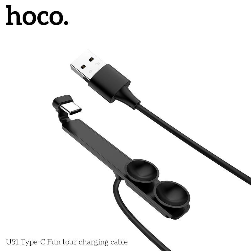 HOCO 90 Degree USB Type C Cable Fast Charging Type-C For Switch Huawei Google Samsung Sony LG Charger USB-C Sync data Cable - Hot Phone Tech
