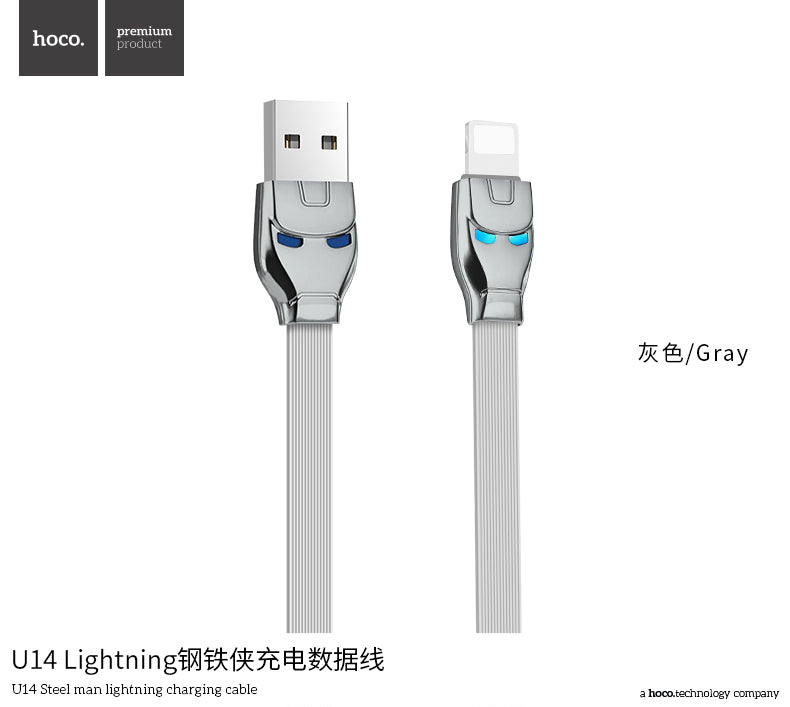 HOCO USB Cable Fast Charger Charging Data SYNC Cord For iPhone XS MAX XS XR X 7 6 6s 5 5s iPad - Hot Phone Tech