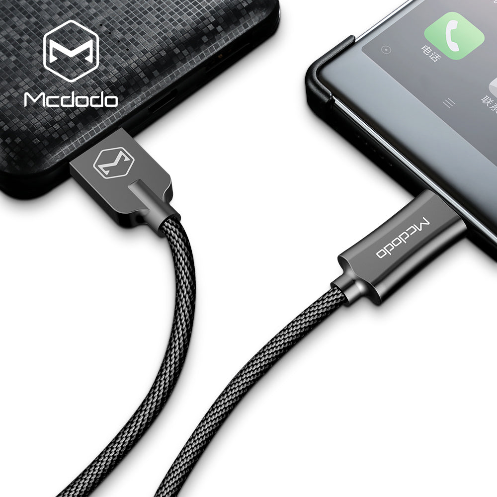 Mcdodo Knight series Type-C 3.1 USB-C Fast QC3.0 Charging Quick Charger Data Sync Cable Cord For Android - Hot Phone Tech