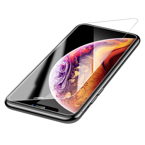 Baseus 0.3mm Screen Protector Tempered Glass For iPhone XS MAX  XR  3D Full Cover Protective Glass Protection - Hot Phone Tech