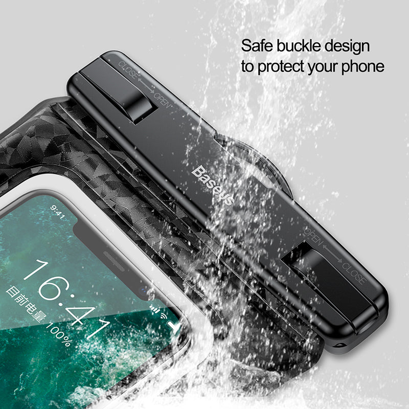 Baseus Universal Waterproof Case For iPhone XS MAX XS XR X 8 7 6S Samsung LG Google HUAWEI Holder For Phone On Running Bag On Hand For Phone - Hot Phone Tech