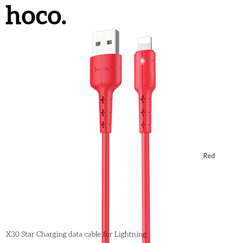 HOCO USB Cable Fast Charging Charger Cable Data SYNC Cord For iPhone XS MAX XS XR X 8 7 6 5 6s plus - Hot Phone Tech