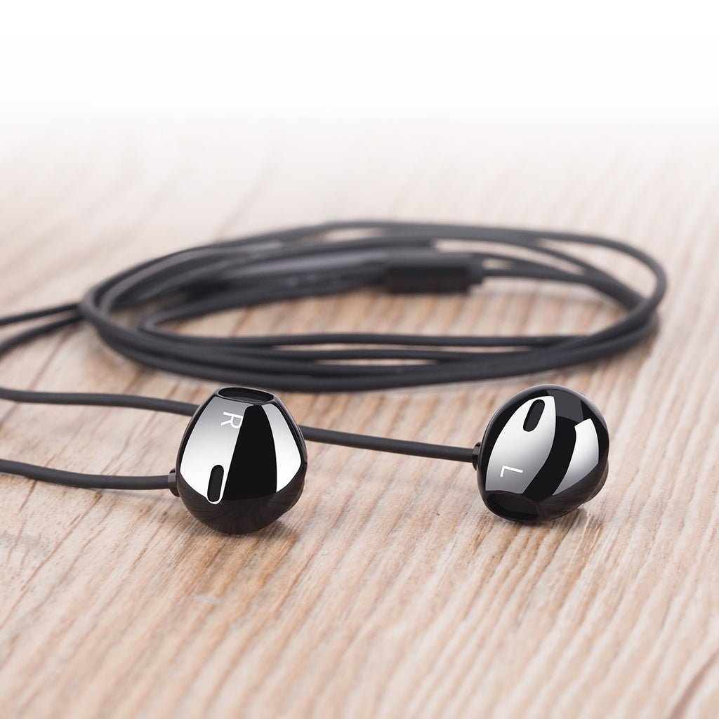 ROCK SPACE Mufree H1 HiFi Stereo Sound Wired Headset In-ear Earphone For iPhone Google Samsung Sony LG HUWEI Universal Phones - Hot Phone Tech