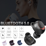 Havit TWS Mini Bluetooth 5.0 Stereo Headset Wireless Earphone Earbud Headphone For iPhone Samsung Google Sony LG HUAWEI - Hot Phone Tech