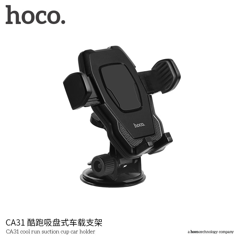 HOCO Windshield Mount Car Phone Holder 360 Rotation Car Holder For iPhone Samsung Google LG Sony HUAWEI  Huawei Phone Stand Bracket - Hot Phone Tech