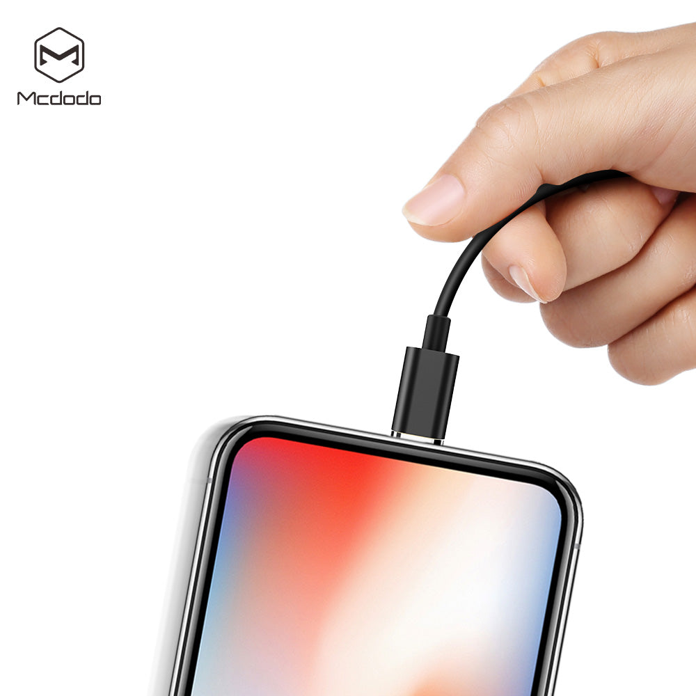 Mcdodo Magnetic attraction  3A 3 in 1 USB Cable for Mobile Phone Micro USB Type C Charger Cable for iPhone XR XS Max X Huawei Samsung LG Google HTC Fast Data Charging Cord - Hot Phone Tech