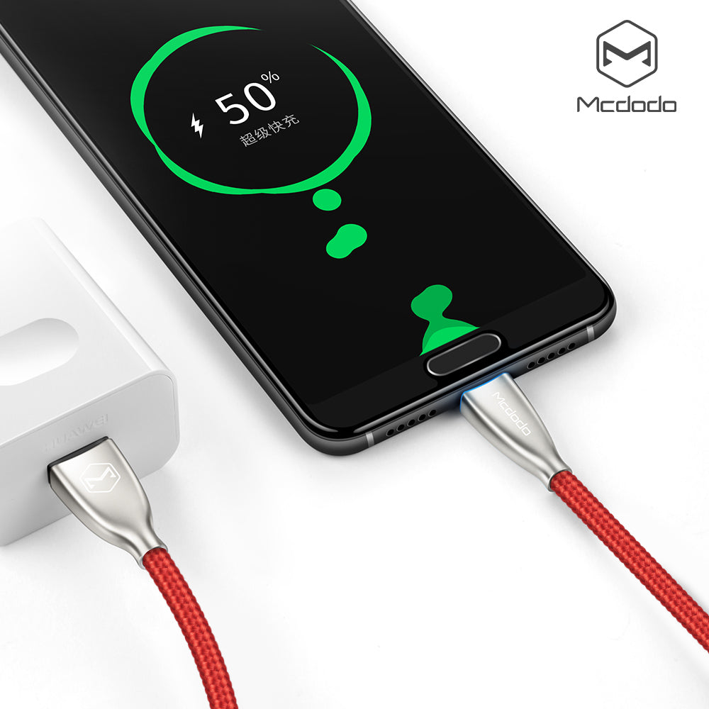 Mcdodo Cable USB Type C 5A Super Fast Charging USB C Cable Data Cord Phone For Samsung HUAWEI HTC NOKIA Google LG - Hot Phone Tech