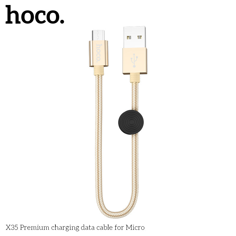 HOCO  Micro USB Quick Charging Cable for Xiaomi Samsung Sony Huawei LG USB Fast Charger Cable Braided Data Sync Wire - Hot Phone Tech
