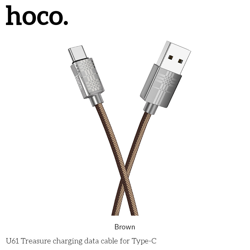 HOCO USB Type C SYNC Cable Fast Charging Data Cable for Huawei LG Google HTC Samsung All Android Device - Hot Phone Tech