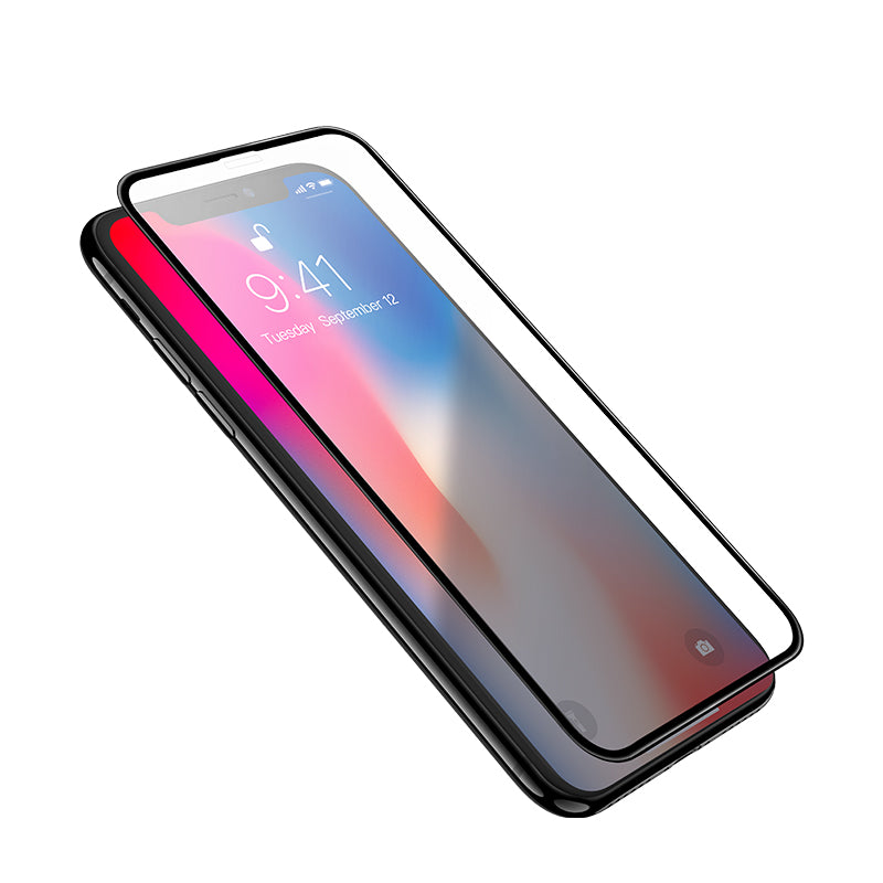 HOCO  3D Tempered Glass Film Screen Protector Full Cover for Soft edges / / 0.03mm Touch Screen Protection for iPhone XR iPhone XS Max - Hot Phone Tech